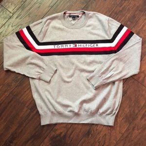 Tommy Hilfiger Men's XL Crew Neck Sweater
